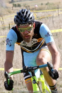Jesse Swift won the Feedback Cup single speed race