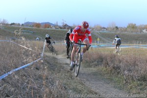 Robin Eckmann second on course in Cyclo-X Louisville
