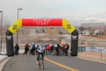 Judy Freeman tests her legs on the uphill start at Cyclo-XWestminster