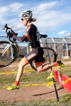 Kristin Weber in flight at the FeedbackCup