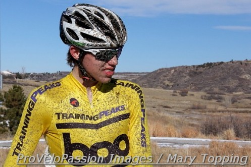 2013 Junior men 17-18 Colorado state cyclocross champion, Brannan Fix