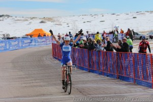Georgia Gould, the 2013 Colorado state cyclocross champion