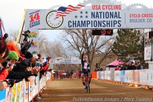 Peter Goguen, the new 17-18 U.S. cyclocross champ
