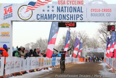 Tim Allen, 2014 single speed cyclocross national champion