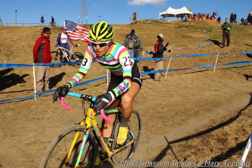 Emily Kachorek, 15th at 2013 cyclocross nationals