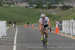 Amy Charity at the finish on the Morgul-Bismark wall