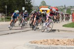 Cat 3 group takes the turn into the residentialcomplex