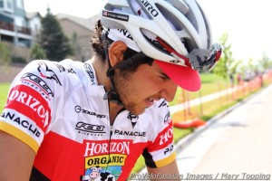 Emerson Oronte likes the classic cycling cap look