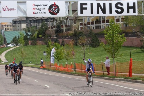 Mara Abbott wins the Superior Morgul Classic Summit Criterium