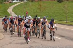 With three laps to go women from several fields grind up the circuit'shill