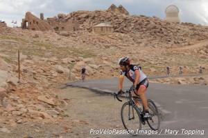 Fortunato Ferrara wins the 2014 Bob Cook Memorial Mt. Evans Hill Climb men's elite race