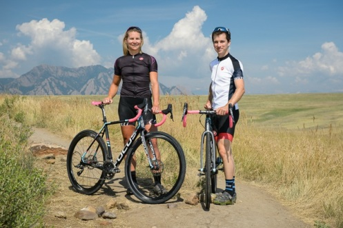 Meredith Miller and Krughoff will ride Focus Mares with SRAM, ENVE and Clement tires for the 2014-15 cyclocross season