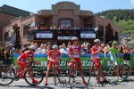 Drapac before start of Stage7