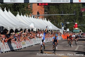 Best part of a sports director's job: Kiel Reijnen wins 2014 USA Pro Challenge stage 1