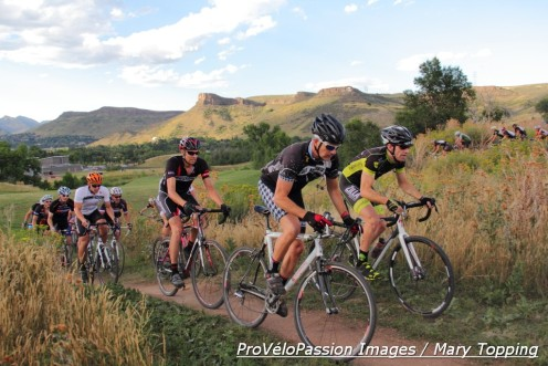 80 took the start in the men's B race at the 2014 Back to Basics race #1 in Golden, Colorado