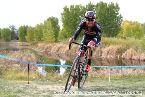 Danny Summerhill won Cyclo X Flatirons