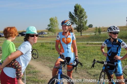 Erica Zaveta with Nicole Novembre and Ksenia Lepikhina