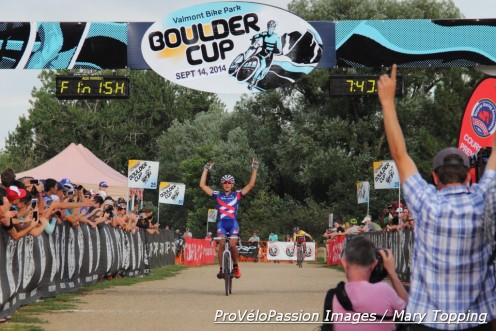 Jeremy Powers wins the 2014 Boulder Cup