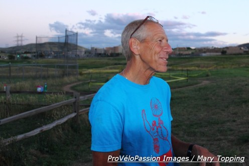 Lee Waldman on the Golden cyclocross course