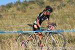 Nicole Duke raced the men's 35+ fortraining