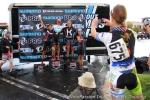 Elite women podiumscene