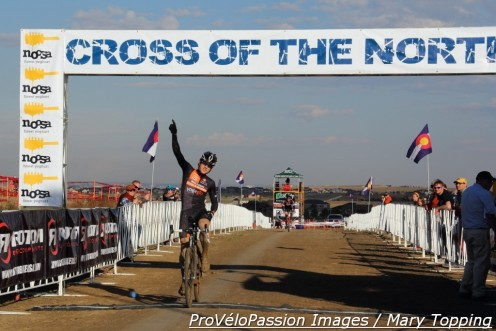 Chris Baddick wins 2014 Cross of the North day 2 men's elite race