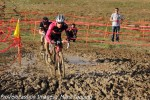 Spencer Powlison ahead of Tim Allen in Cross of the North'smudpit