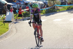 Megan Carrington, third at Sienna Lake, raced Cat 3 last season