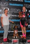 Kate and Spencer Powlison dog podium