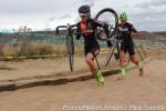 Kristin Weber and Caitlyn Vestal, lap 1 sand