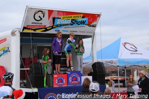 Cider spray podium at 2014 Colorado state cyclocross championships