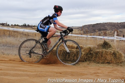 Dawson School rider aces the sand