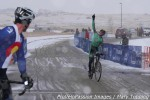 Gage Hecht wins the elite race at 2014 Colorado state cyclocross championships in CastleRock