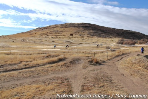 South section of the west hill at Rhyolite Park