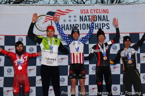 Men's 2015 singlespeed US cyclocross championships top five