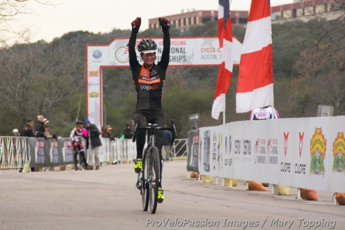 Kristin Weber: mom, athlete, friend, and the new US masters 40 to 44 cyclocross champion
