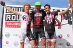 Pro-1-2 podium: Warren, Grajales,Zambrano