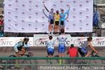 Women's individual pursuit podium