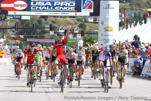 Taylor Phinney wins in Steamboat Springs