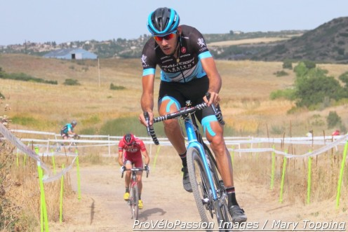 Fernando Riveros opened a gap at Rhyolite Park Cross and held it to win