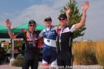 40+ podium (l-r): M. Davis, K. O'Brien, T.Meiser