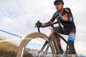 Yannick Eckmann's back in the cyclocross saddle