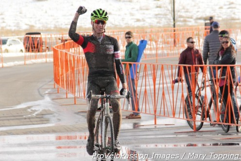 Tim Allen wins 2015 Colorado single speed cyclocross championship