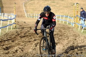 Colorado's Lisa Hudson does ruts